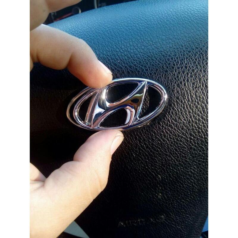 Hyundai 現代 車標 方向盤 氣囊標 方向盤標 ix35 Elantra Tucson ix10 santafe