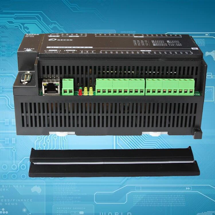 12路繼電器輸出16通道模擬量輸入Modbus TCP RTU 以太網模塊