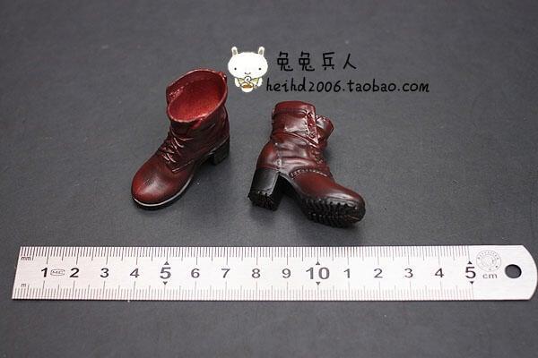 1:6兵人 復仇者聯盟 奧創紀元 緋紅女巫 女鞋模型 自帶靴腳 非HT