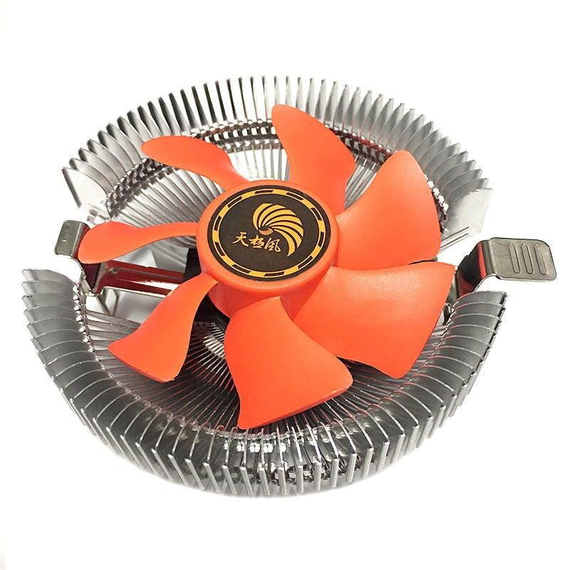 天極風Q60多平臺CPU散熱器775/1155/1150/1 AMD臺式電腦靜音風扇