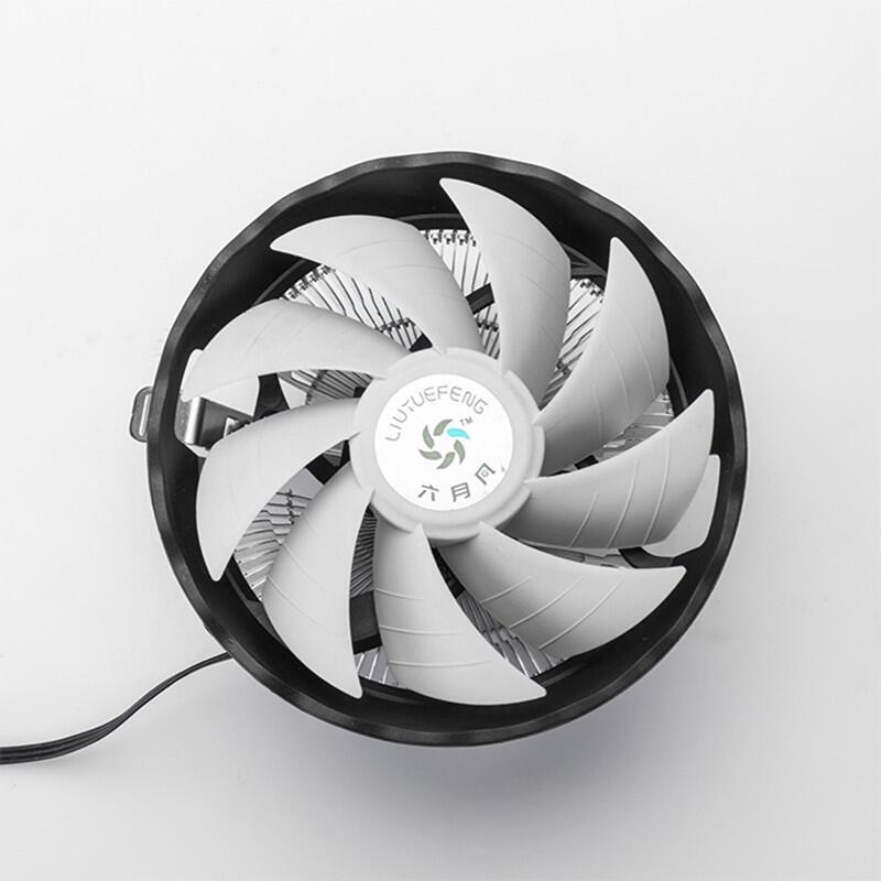 六月風玄冰cpu散熱器臺式電腦多平臺支持775 1155主板cpu散熱風扇