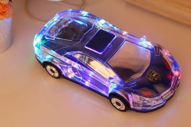新款 蘭博基尼汽車模型藍牙版插卡音箱 mp3播放器外放 造型喇叭 收音機