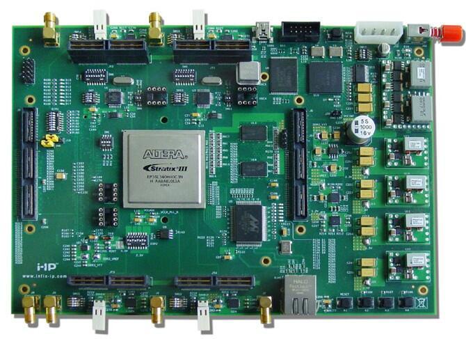 Altera DE3+原型驗證平臺FPGA開發板Stratix III 200 340 ASIC