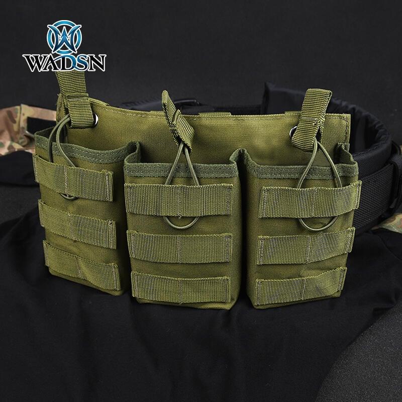 【湊夠500下單】WADSN沃德森戰術三聯包軍迷molle背帶包多功能工具收納包戶外腰包