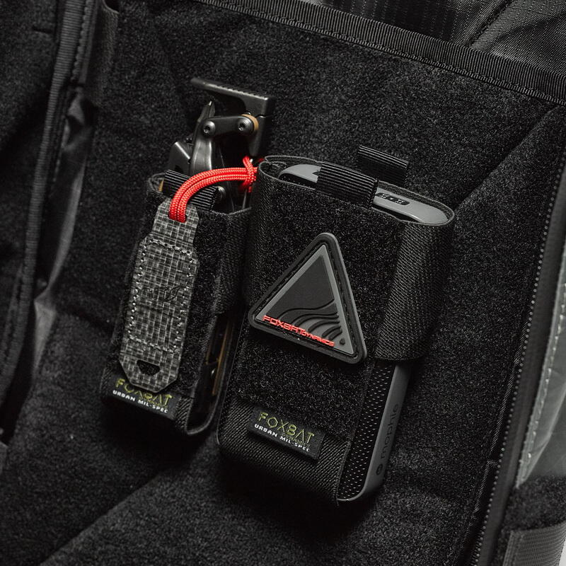 【湊夠500下單】【TAG】FOXBAT-狐蝠工業  內模塊系統 魔術貼彈力工具套 EDC套