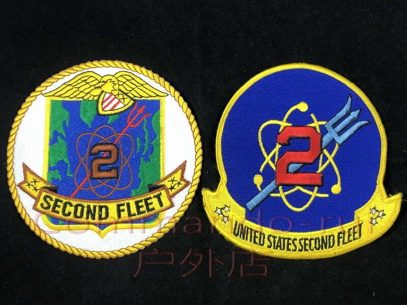 【湊夠500下單】美國海軍 NAVY 第二艦隊 SECOND FLEET 徽章 貼章