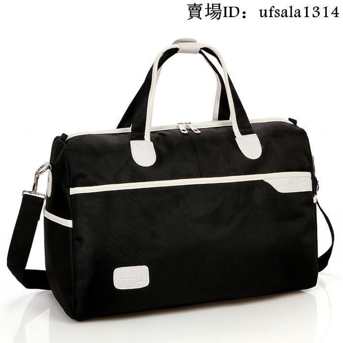樂購家具_防水男短途旅行包袋手提大容量女行李包旅遊包商務出差可折疊