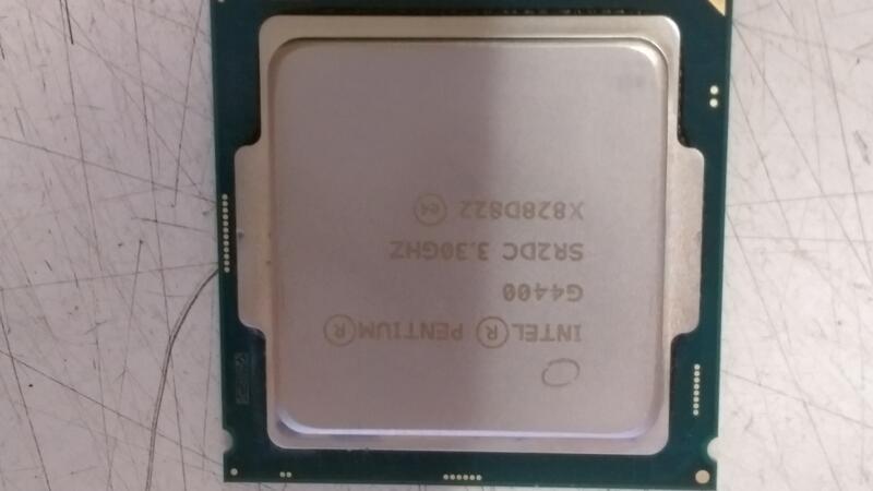 Intel Pentium G4400  G4500 CPU (1151 腳位) 二手良品 無風扇 過保