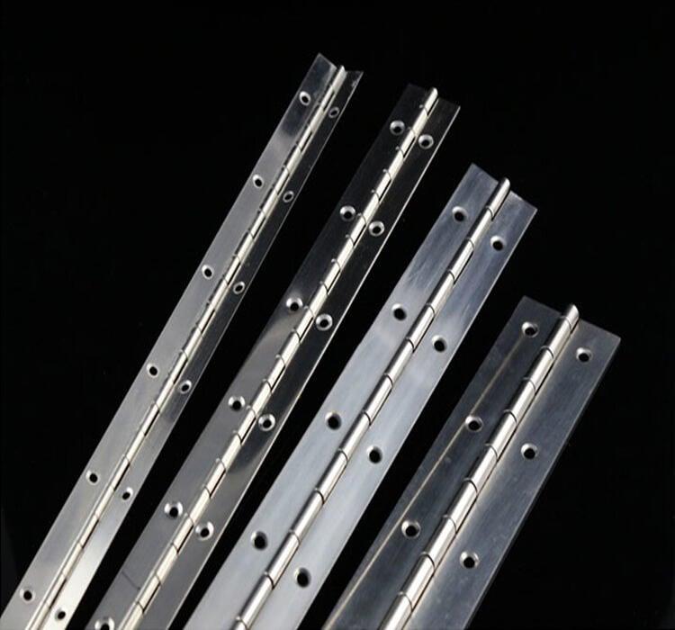 優質 304不銹鋼長排合頁長鉸鍊鋼琴鉸鏈2寸2米厚1.5mm 寬50mm排鉸
