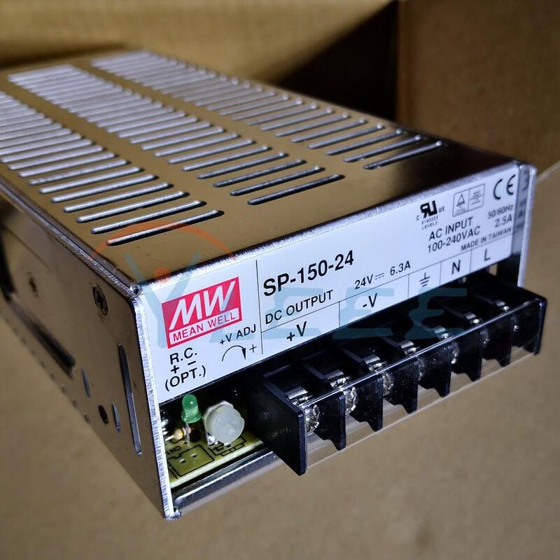 全新原裝正品台灣MW開關電源SP-150-24 150W 24V 6.3A