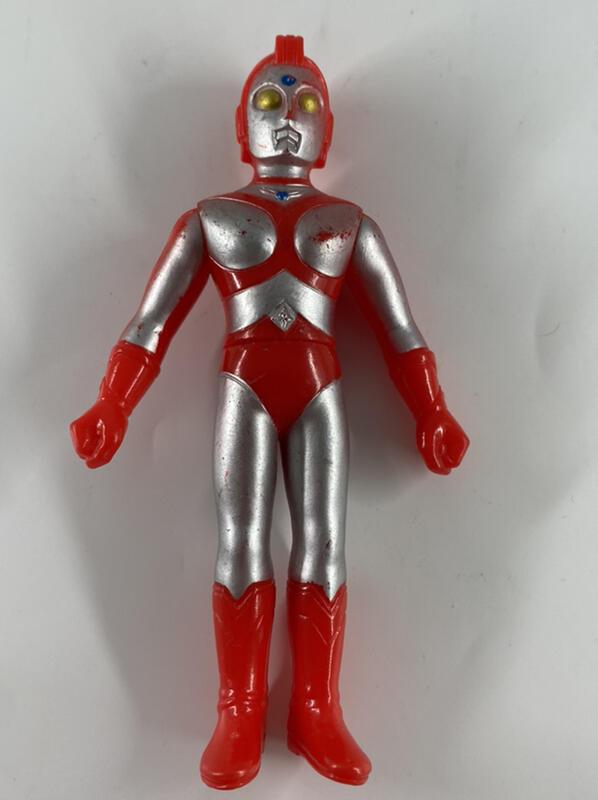 小光玩具 萬代1988日製 超人力霸王 尤利安 13公分軟膠 奧特曼 鹹蛋超人 80 艾迪