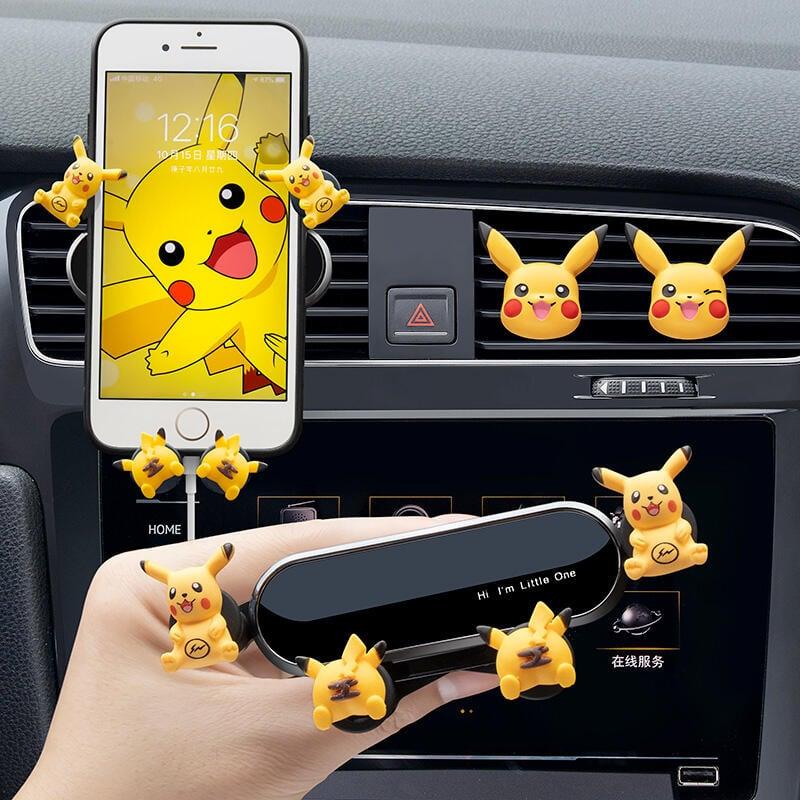 車載手機支架汽車用導航2021新款固定支撐駕出風口車內車上可愛女