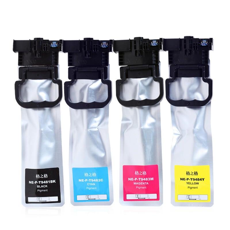 格之格 适用爱普生T9481墨盒 c5290a Epson wf-c5790a打印机墨盒 wf-c5290a彩色墨水盒