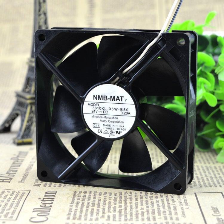 現貨全新 NMB-MAT 3610KL-05W-B50 9025 24V 0.20A 變頻器 散熱風扇批量優惠