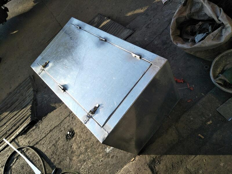 今日特價~中大型貨車加裝外掛工具箱定做車用儲物箱大空間方型加厚鐵箱防銹