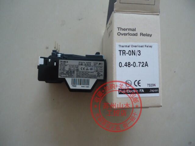全新正品日本富士熱繼電器TR-0N\/3