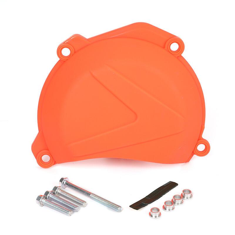 +現貨速發KTM系列越野摩托車改裝件離合器保護罩離合器邊蓋防刮花保護蓋
