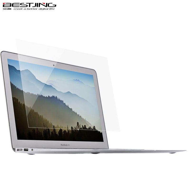 免運可開發票倍晶 Mac蘋果筆記本macbook電腦屏幕貼膜新款Pro13.3高清防刮膜新款Air13保護膜1932/1