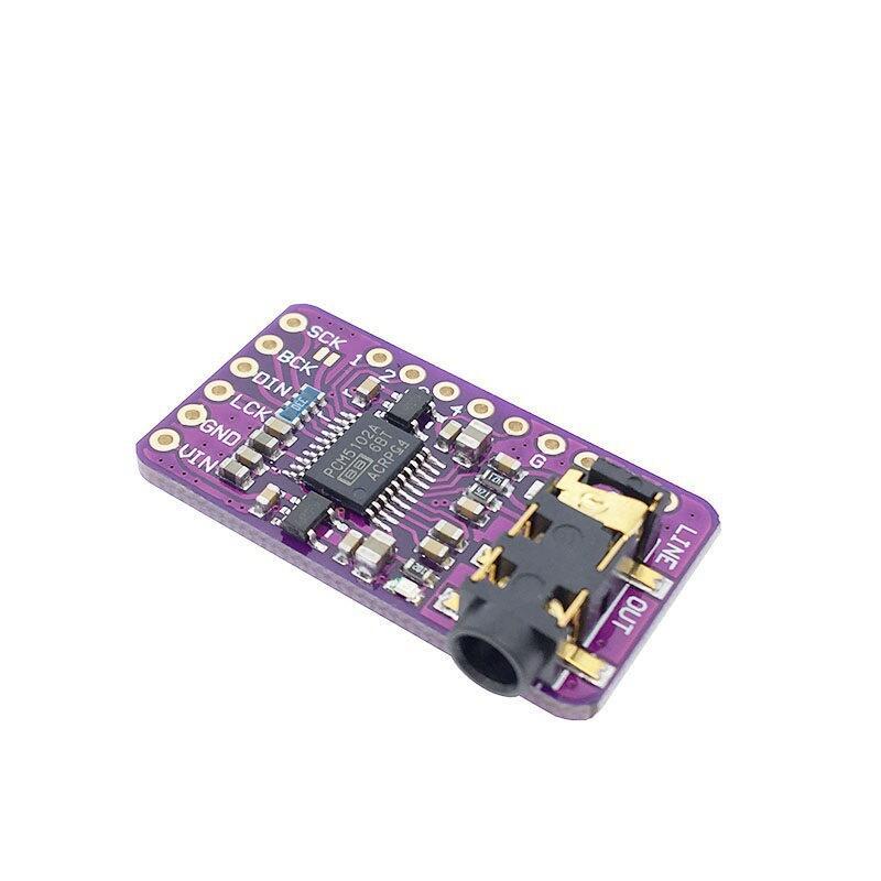 【緣來】GY-PCM5102 I2S IIS 單片機 樹莓派 無損數字音頻DAC解碼板