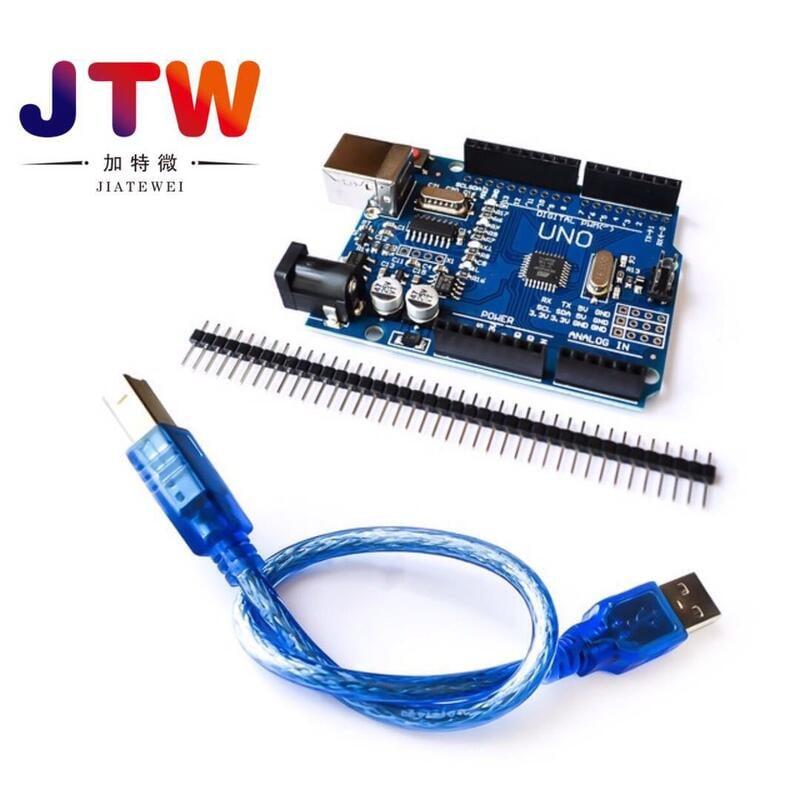 【緣來】新款 改進版 UNO R3 開發板 增強版 CH340G 送數據線 送排針