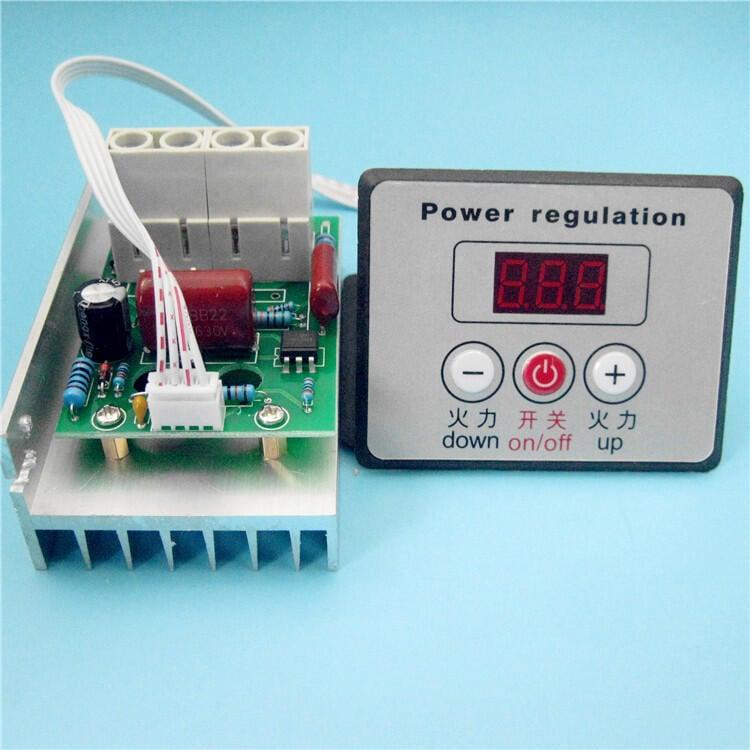 【緣來】無煙電烤爐數字調溫器 商業燒烤爐控制器 發熱管調溫 220V 380V