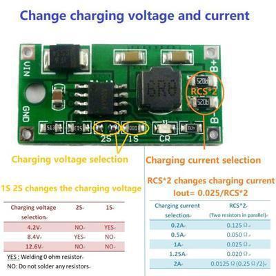 【緣來】1S 2S 3S Li-Ion Lipo 4.2V 8.4V 12.6V Charger DD23CRTA