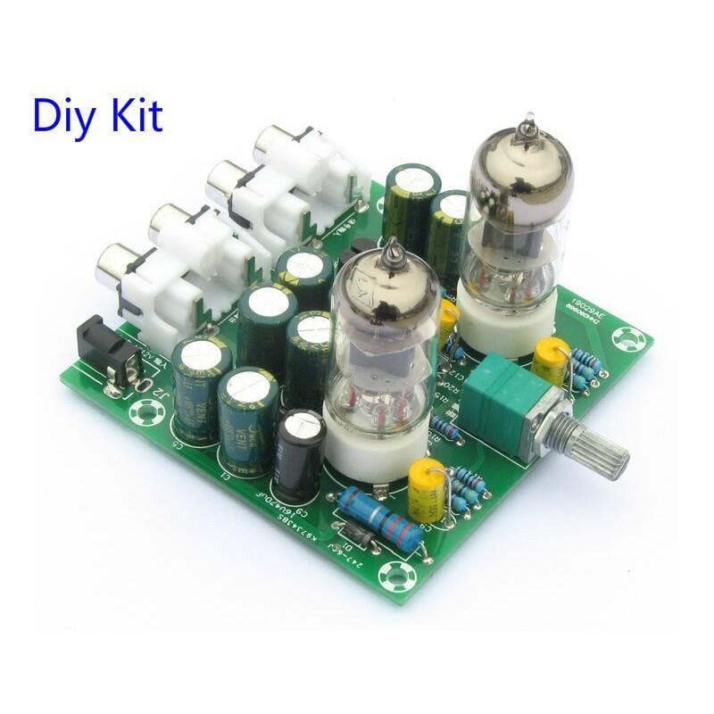 【緣來】發燒6J1電子管膽前級 發燒hifi甲類音箱放大器 膽機diy套件 散件