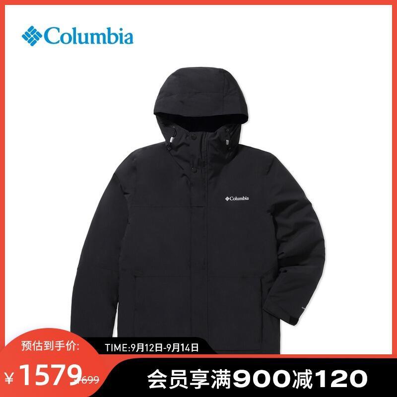 【小洋】Columbia哥倫比亞戶外21秋冬新品防水熱能保暖機織棉外套男WE1516