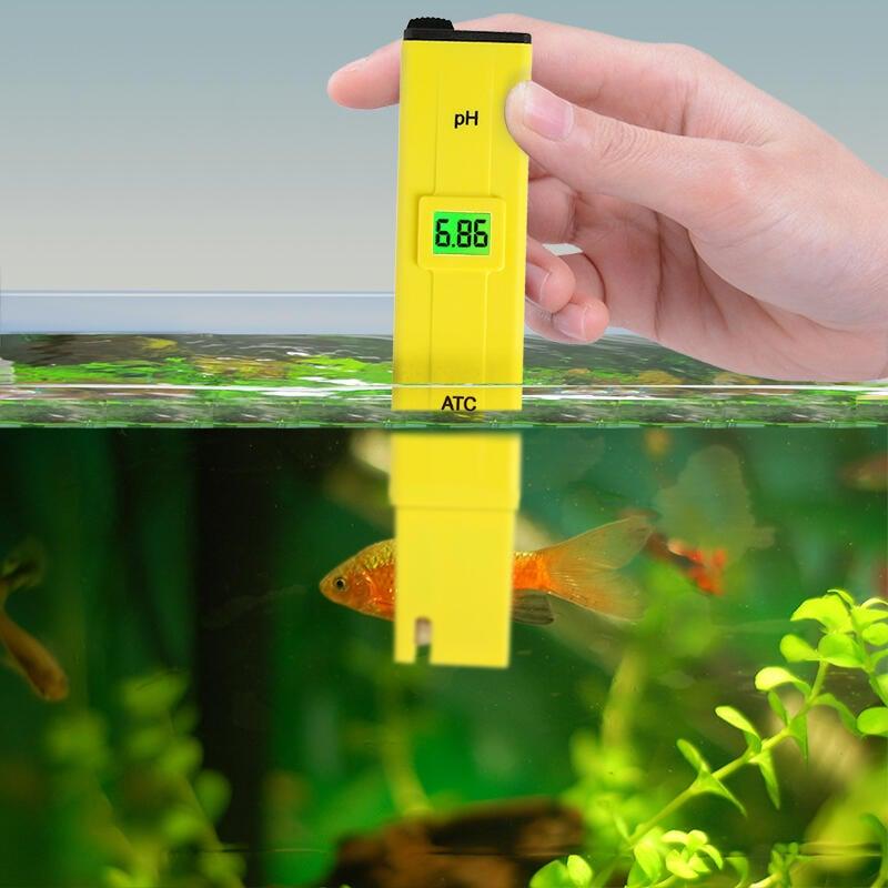 天公定制高精度ph測試筆ph計酸度計ph測試儀ph值水質檢測器水族魚缸酸堿度 度0.01(帶背光)