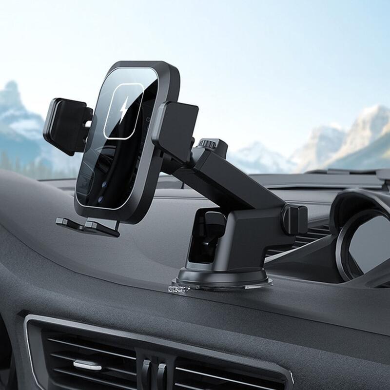 新型熱無線汽車三軸自動感應無線快速充電支架