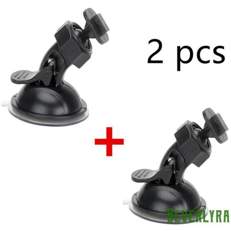 2x 吸盤汽車擋風玻璃行車記錄儀支架運動 Dv Dvr 攝像機支架