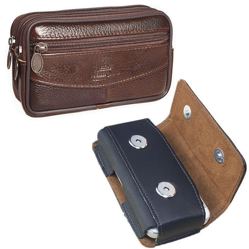 通用手機腰包套穿皮帶手機袋錢包男款別腰式中老年人農民工干活包選項不同價格不同