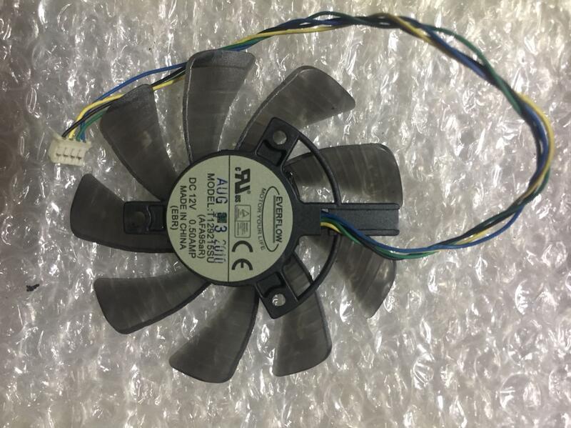 【麻吉弟兄】藍寶石毒藥 黑鉆R9 270X280X290X370X380X390X顯卡散熱風扇