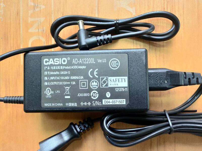 原裝卡西歐CASIO數碼電鋼琴電源線適配器PX-130 135 150 160 750