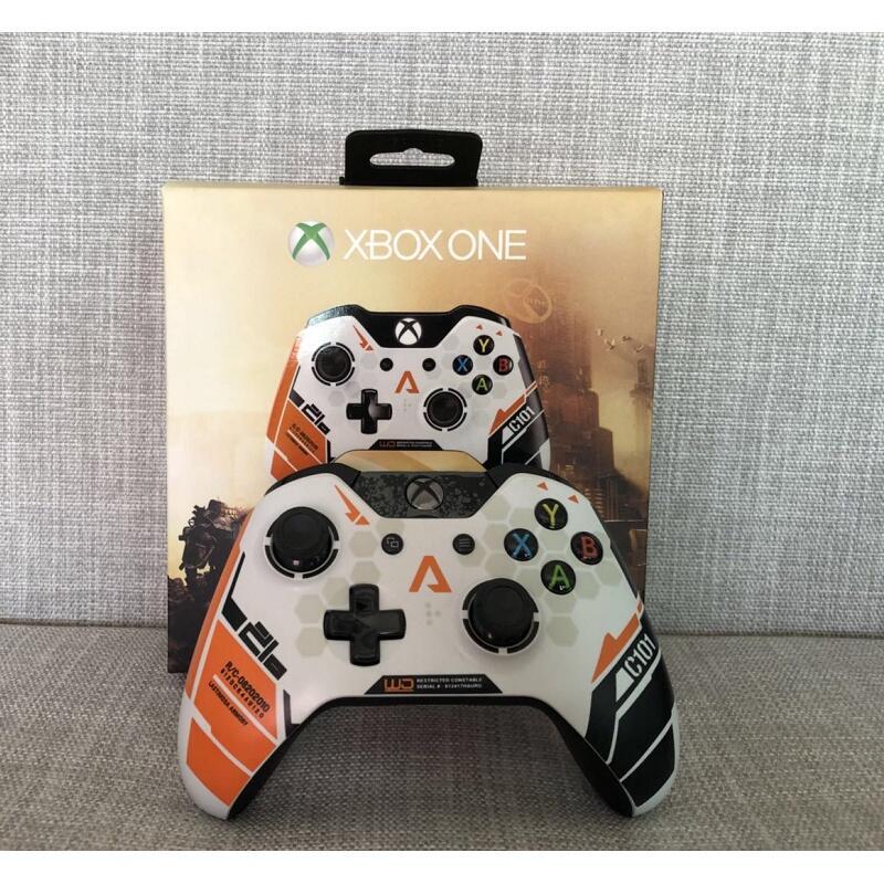 【現貨優惠】泰坦隕落 Xbox one手柄 限量版 無線 有線 電腦遊戲手柄 XBOXONE 手把 控制器