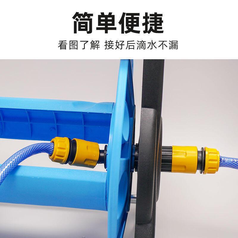 水管車收納洗車器收卷水管收納架神器家用水管收卷器[水管]【小濕妹】