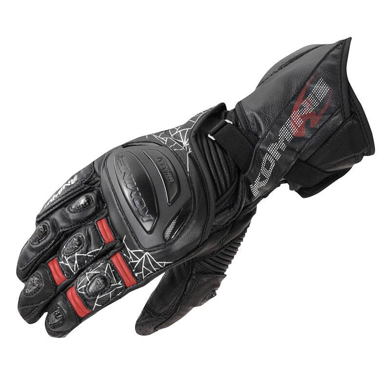 2021新款KOMINE 賽車防水防摔防滑長款機車摩托車騎行手套GK-235