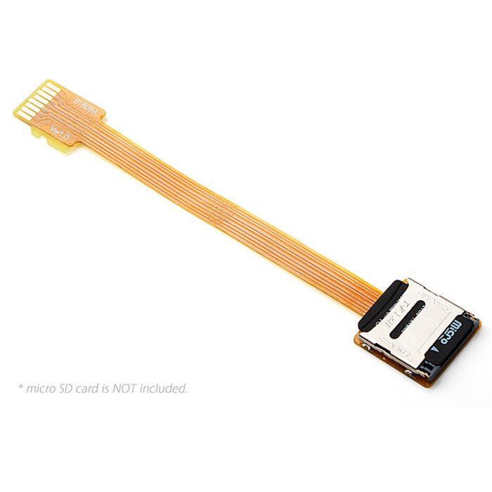 EP-077 FPC鍍金接頭MicroSD TF卡延長線延長器公對母外置延伸器