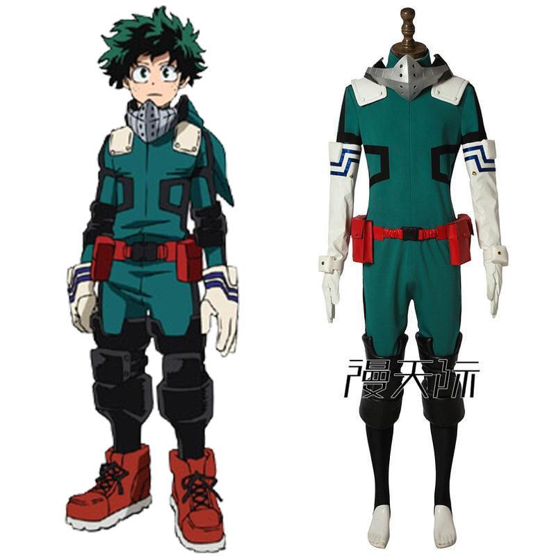 漫天際 我的英雄學院cos服綠谷出久英雄服cosplay服裝全套