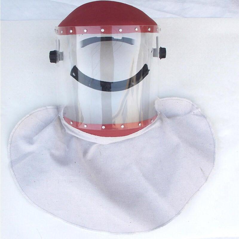 安全防護★披肩隔熱面罩 防護面屏 面罩 透明 加厚 防護面具 防飛濺面罩現貨