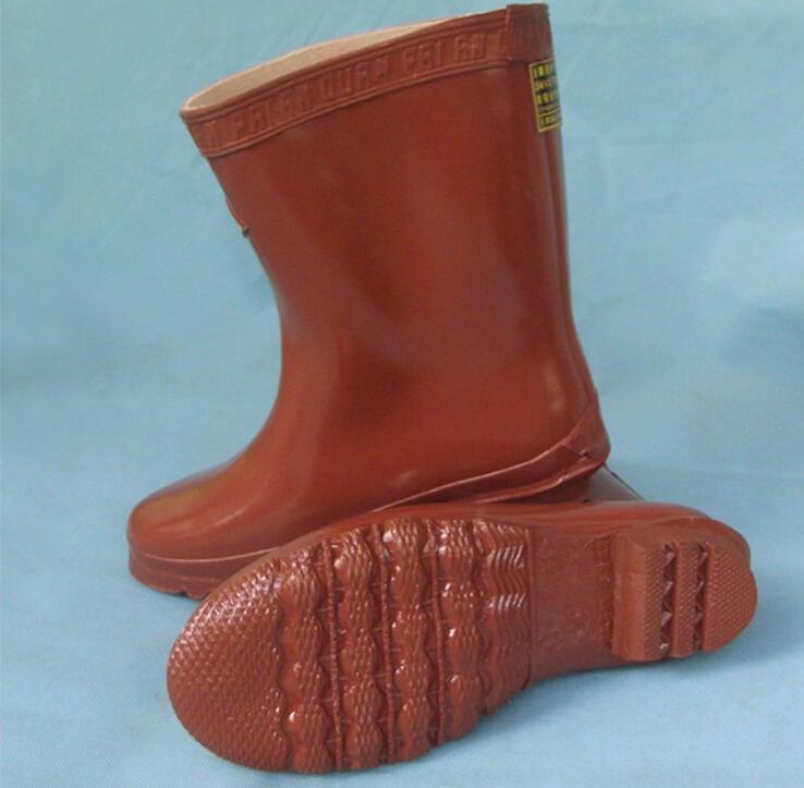 安全防護★雙安牌 25KV絕緣鞋靴 電工鞋高壓電力作業勞保鞋膠鞋中筒水鞋雨靴現貨