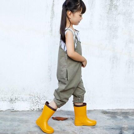 安全防護★日本超輕兒童雨鞋 男童女童四季雨靴寶寶中小學生防滑膠鞋水鞋現貨