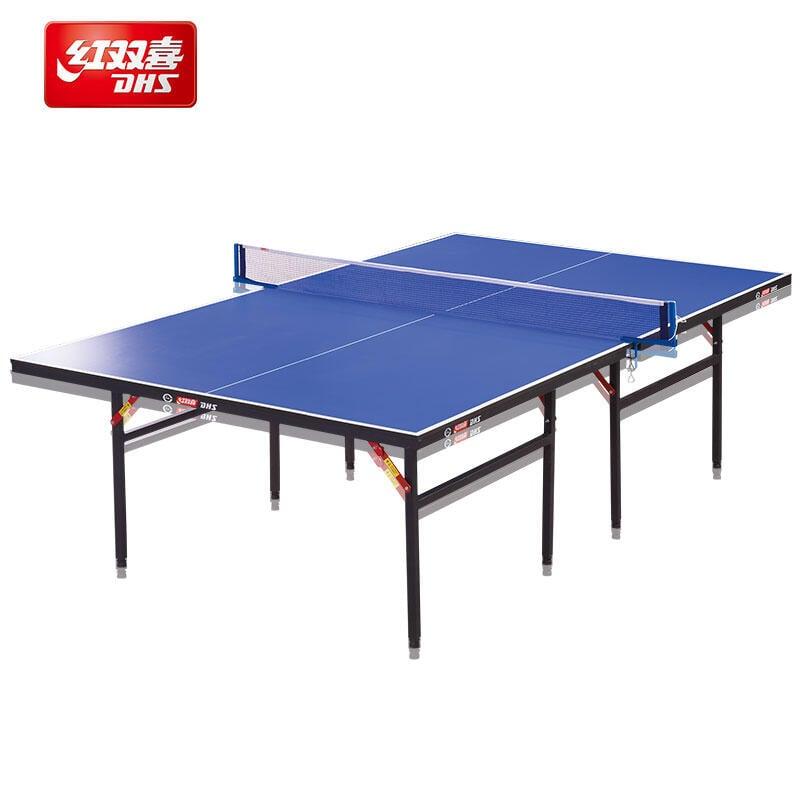《 Language 》千語  正品紅雙喜乒乓球桌T3626折疊式乒乓球臺 室內標準家用娛樂球臺
