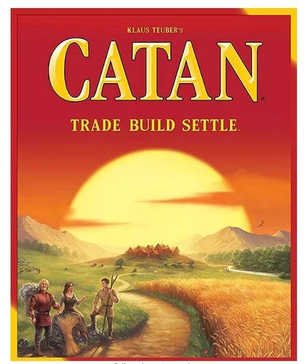 現貨 英文版卡坦島桌遊第五版 Catan 5-6人擴展 海洋休閒聚會卡牌