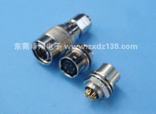 替代廣瀨2芯4芯6芯插頭插座CCD工業相