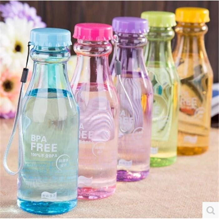 【石屋家居】透明水瓶 ⭐現貨熱銷⭐  摔不破 便攜水杯 塑料水瓶清侶杯子 旅行便攜 時尚水杯 運動水瓶 透明水壺