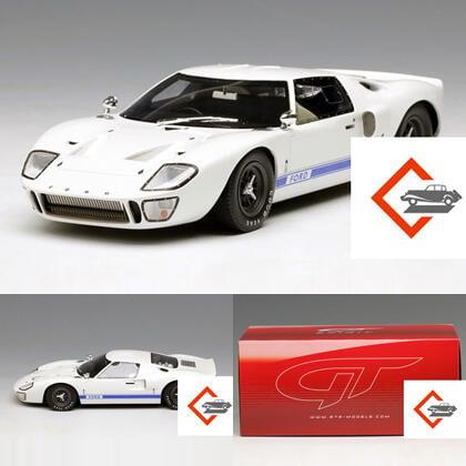 【金牌】GT Spirit 1:18福特FORD GT40 MKI 限量靜態仿真汽車模型收藏擺件