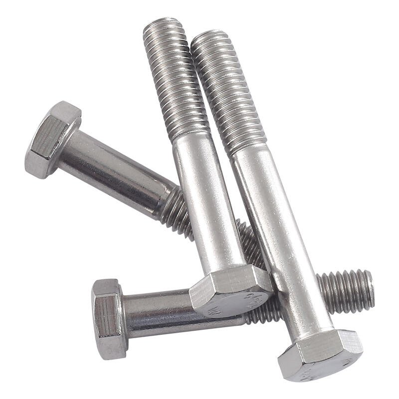 優質 M12M14M16 304不銹鋼半牙外六角螺絲半螺紋螺栓半扣螺釘*40/45/50