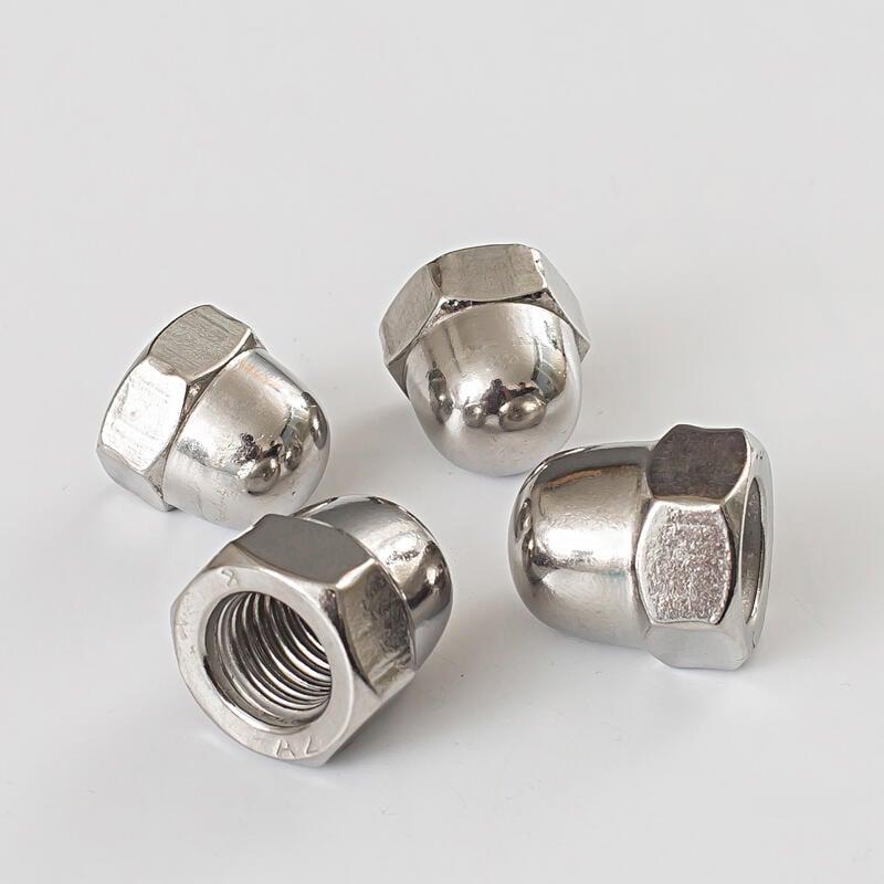 優質 304不銹鋼蓋形螺母/蓋帽/裝飾螺帽/蓋型螺母M22M24M27M30M33M36