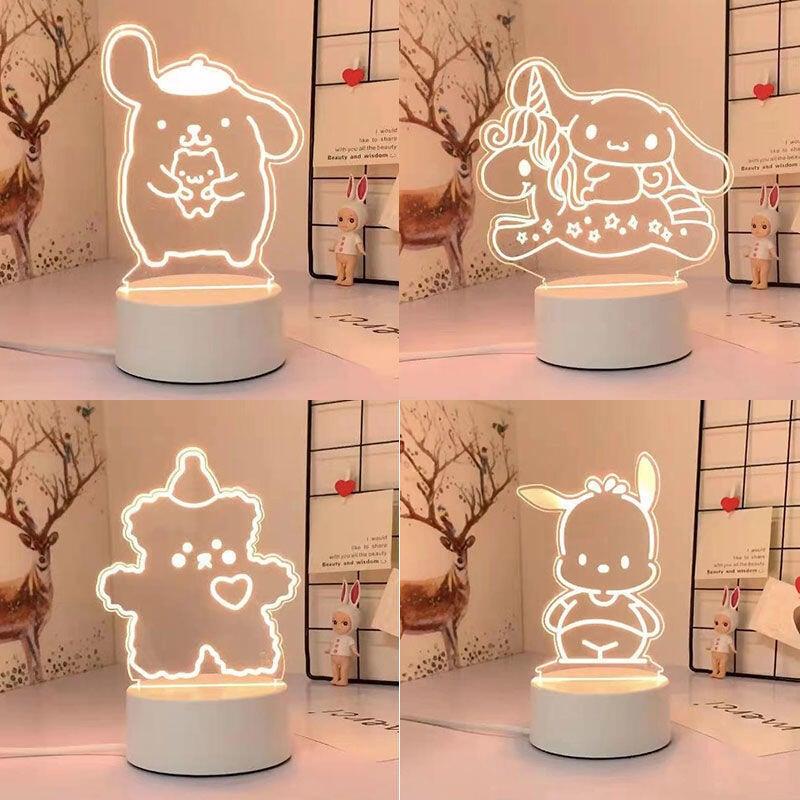 精品韓國ins創意生日禮物送女生男朋友畢業閨蜜可愛的床頭小夜燈臺燈